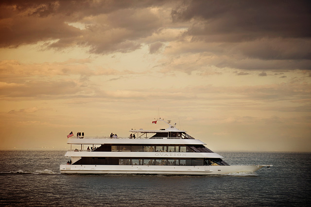 transportation and lifestyle portraits on luxury yacht - commercial, editorial photographer in Detroit Michigan