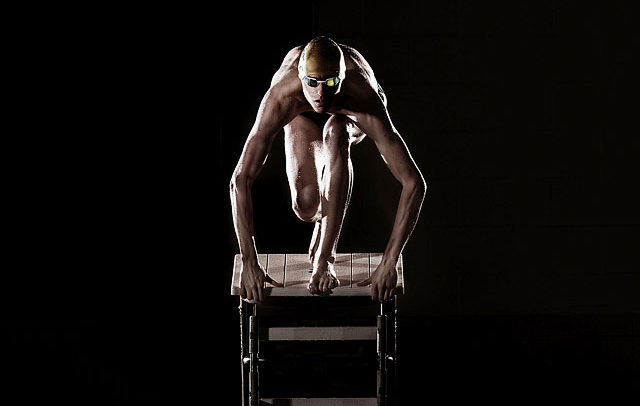 Michigan professional athlete swimmer pictures - celebrity commercial advertising, headshot and portrait photographer