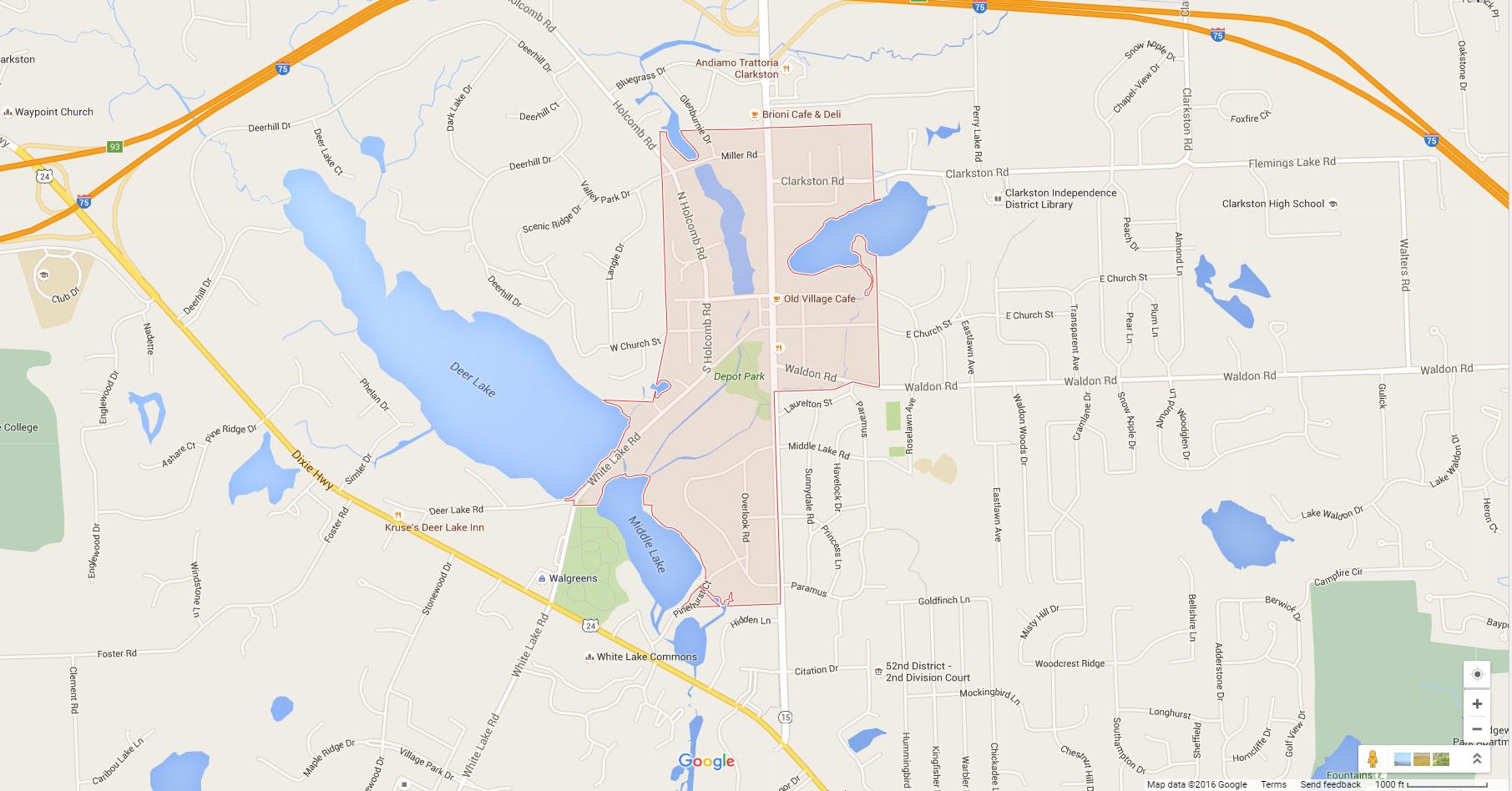Detroit Michigan Map Google.Clarkston Located Michigan Detroit Commercial Photographer Near