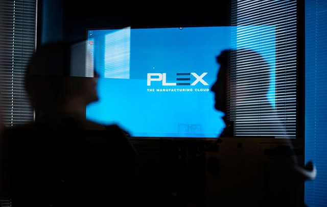 Commercial image advertising industrial company PLEX